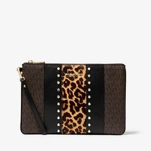 Michael Kors Jet set Travel pouch clutch wristlet